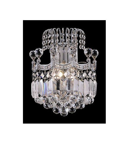 Palace Crown A 2 Light Crystal Wall